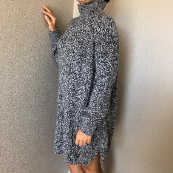 da85b631026 Topshop turtleneck knit sweater dress. M 5b42b09c9539f7402fb2c74b